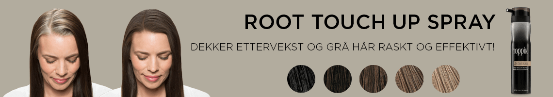 før og etter Root Touch Up